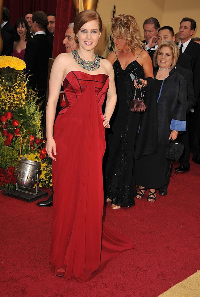 Amy Adams at the 81st Annual Academy Awards - Feb. 22, 2009
