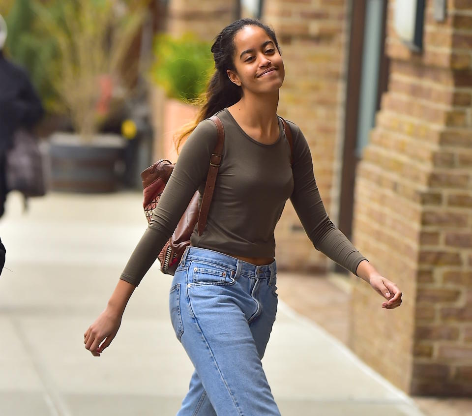 The <em>Daily Mail</em> claims a Facebook account that slams President Trump belongs to Malia Obama. (Photo: Getty Images)