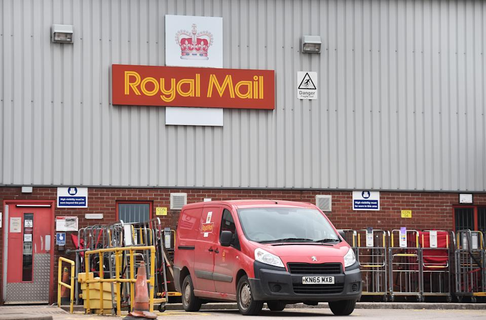 The construction of Royal Mail's second parcel hub is underway in Daventry in Northamptonshire. Photo: Getty Images