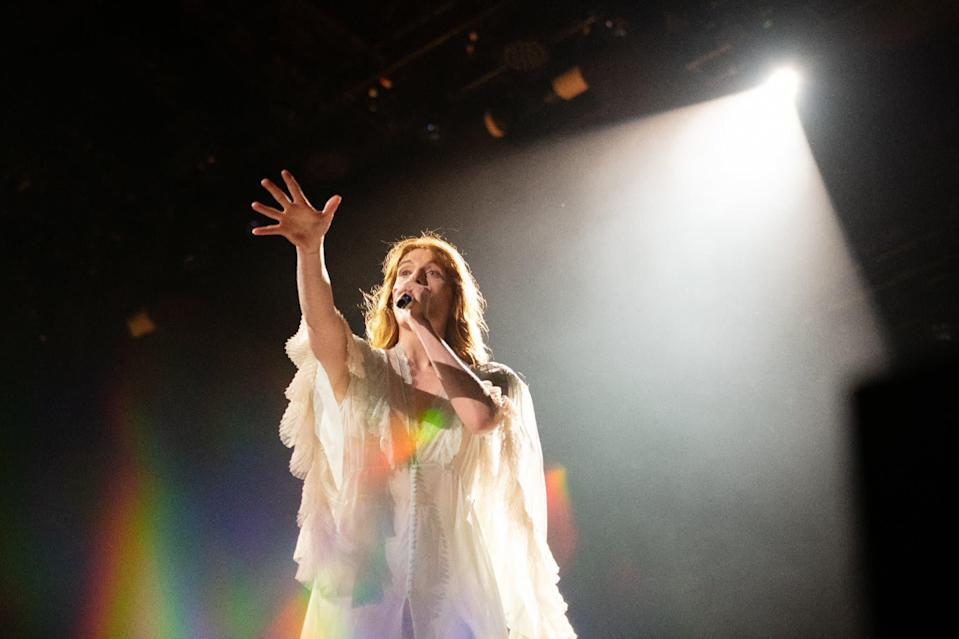 Florence Welch en 2019 - Noam Galai / GETTY IMAGES NORTH AMERICA / Getty Images via AFP