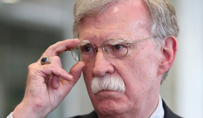 "John Bolton said China ""just stole"" the F-35 for its own fighter. Photo: EPA-EFE"