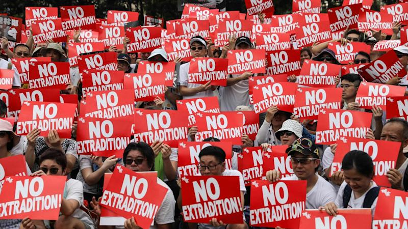 Hong Kong Government Working To Defuse Extradition Bill