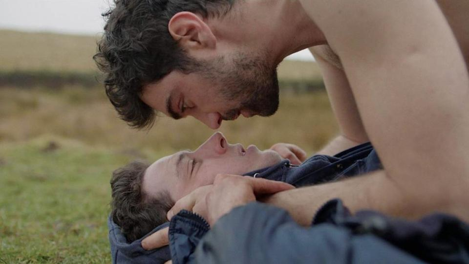 LGBT movies. Shot from God's Own Country photo.