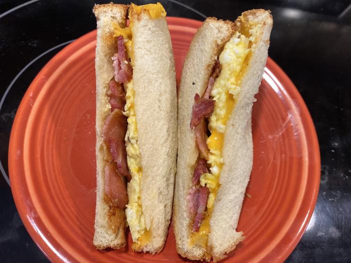 Breakfast Sandwiches (Courtesy Megan Dubois)