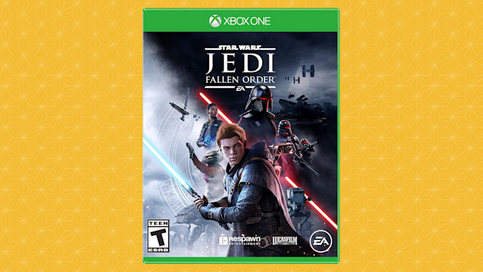 Who doesn't love kicking back with some Jedi derring-do on a rainy afternoon? (Photo: Walmart)