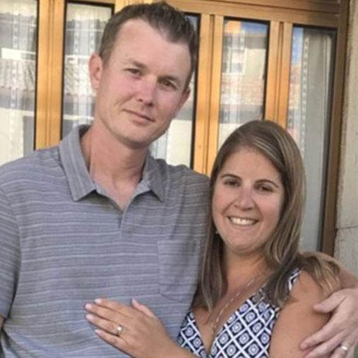 After tying the knot and moving on with their lives, the couple somehow managed to be reunited with the ring.
