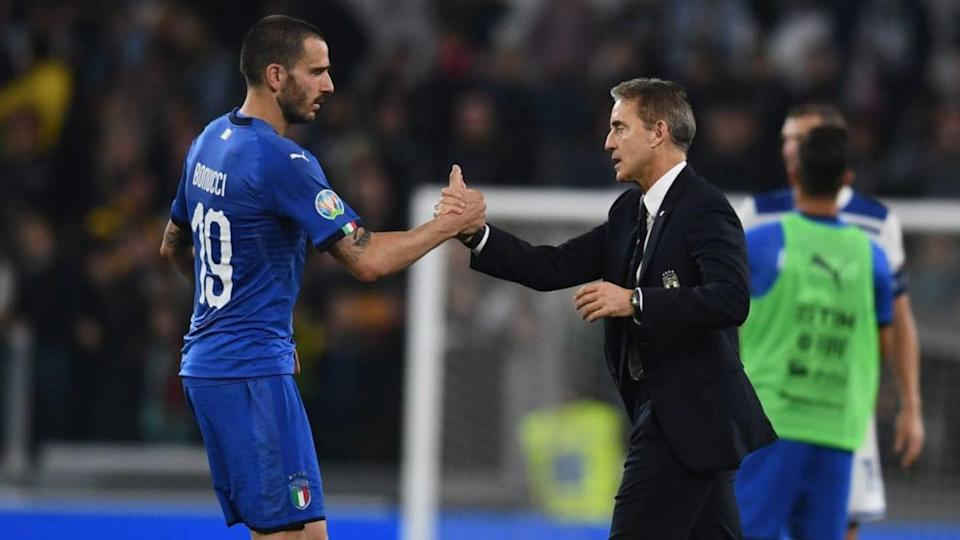 Bonucci e Mancini | Claudio Villa/Getty Images