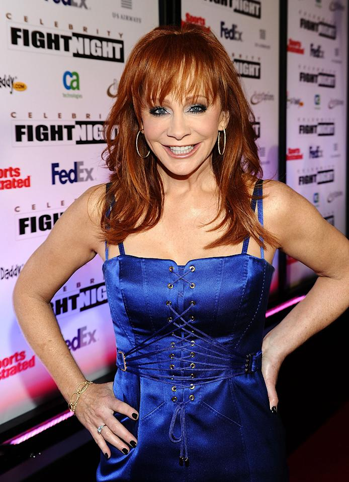 """March 28: Reba McEntire turns 56 Michael Buckner/<a href=""""http://www.gettyimages.com/"""" target=""""new"""">GettyImages.com</a> - March 19, 2011"""