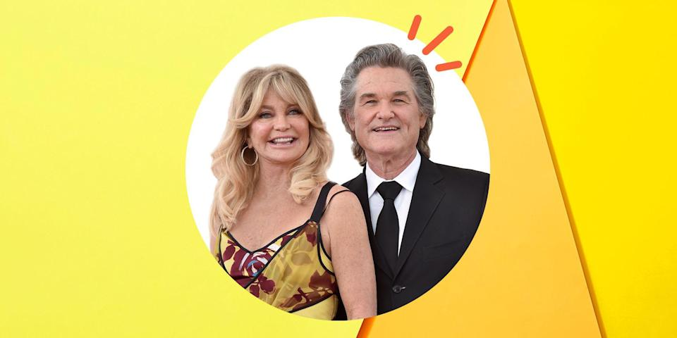 """<p>It took a while for <a href=""""https://www.womenshealthmag.com/relationships/a19992889/goldie-hawn-talks-about-relationship-with-kurt-russell/"""" rel=""""nofollow noopener"""" target=""""_blank"""" data-ylk=""""slk:Goldie Hawn and Kurt Russell"""" class=""""link rapid-noclick-resp"""">Goldie Hawn and Kurt Russell</a> to get the timing right, but once they did, they were all in. </p><p>The legendary actress first met her lifetime leading man on set in 1968 while filming <em>The One and Only, Genuine, Original Family Band</em>. She was 20, and he was 15. """"I think for me, I mean, he was way too young for me. I was, like, dating older guys,"""" Goldie said on <a href=""""https://www.youtube.com/watch?v=ETqdCtTIP2Y"""" rel=""""nofollow noopener"""" target=""""_blank"""" data-ylk=""""slk:CBS Sunday Morning"""" class=""""link rapid-noclick-resp"""">CBS Sunday Morning</a> in 2020. By the time they reunited on the set of another film in 1983, they were both divorced, and neither was looking for romance. But as usually happens in life, when you don't want to something to happen, it does anyway. The two fell for each other and haven't separated since. </p><p>Nearly forty years later, with four children and seven grandchildren between them, Goldie and Kurt still reminisce about their romance by watching their films. """"You know how sometimes you forget why you fell in love? I remembered everything, and why I fell in love,"""" the <em>First Wives Club</em> star said on <em><a href=""""https://www.youtube.com/watch?v=0ELjlXDK744"""" rel=""""nofollow noopener"""" target=""""_blank"""" data-ylk=""""slk:The Late Late Show With James Corden"""" class=""""link rapid-noclick-resp"""">The Late Late Show With James Corden </a></em>in 2017 about watching films they've starred in together. """"It was really something to be able to watch that.""""</p><p>Now, you could do the same—watch the couple's numerous films and guess the subtle meanings of their gestures to decipher whether they still feel the same way today, but bringing in an expert might be easier. Luckily for you, <a href=""""http"""