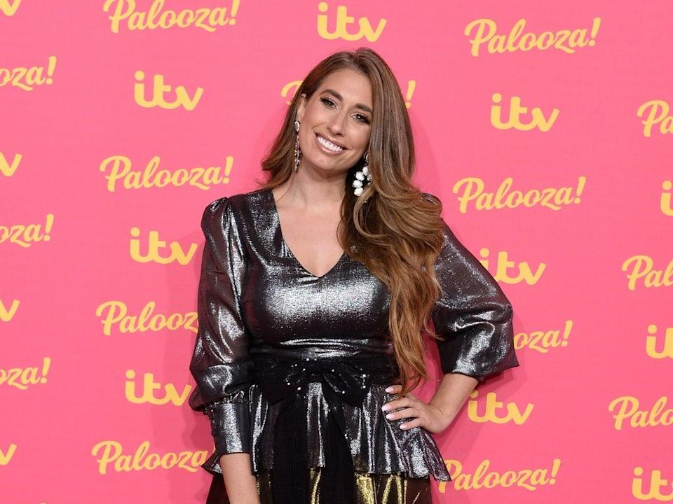 Stacey Solomon at the ITV Palooza in 2019 (Getty Images)