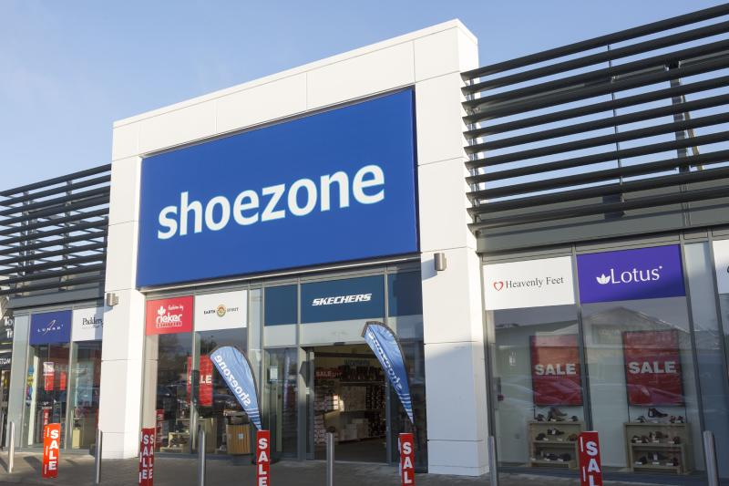 Shoezone store shop, Martlesham, near Ipswich, Suffolk, England, UK. (Photo by: Geography Photos/Universal Images Group via Getty Images)