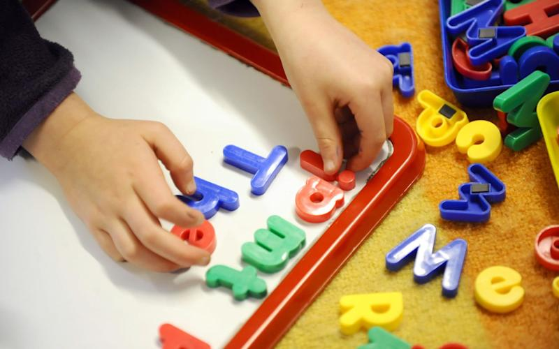 Toddlers subject to temperature checks on arrival at nursery