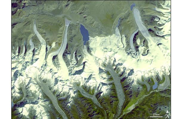 Some Himalayan Glaciers Doomed to Shrink