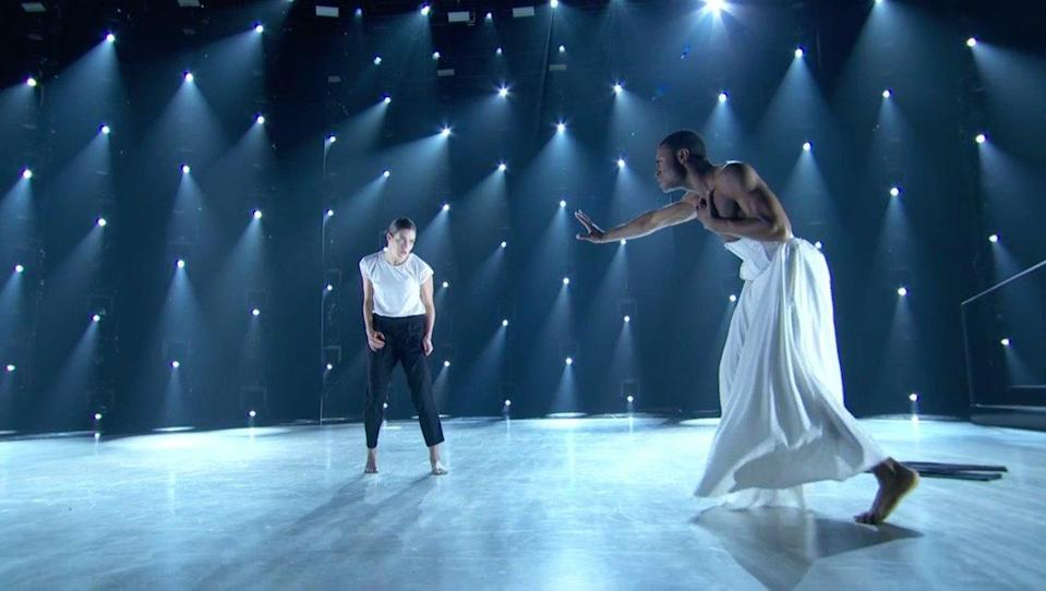 """Taylor Sieve and Darius Hickman on """"So You Think You Can Dance."""" (Photo: Fox)"""