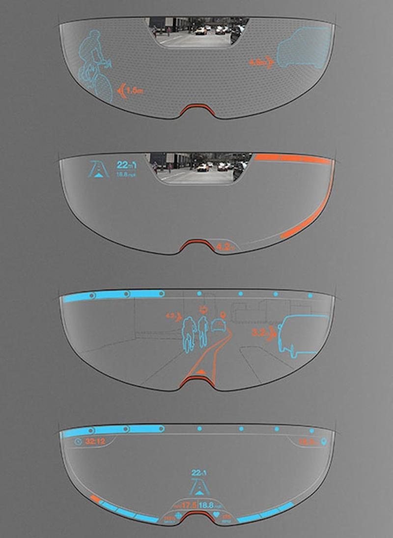 9b9651025fe8 Augmented-Reality Helmet Could Give Cyclists Extra Eyes on the Road