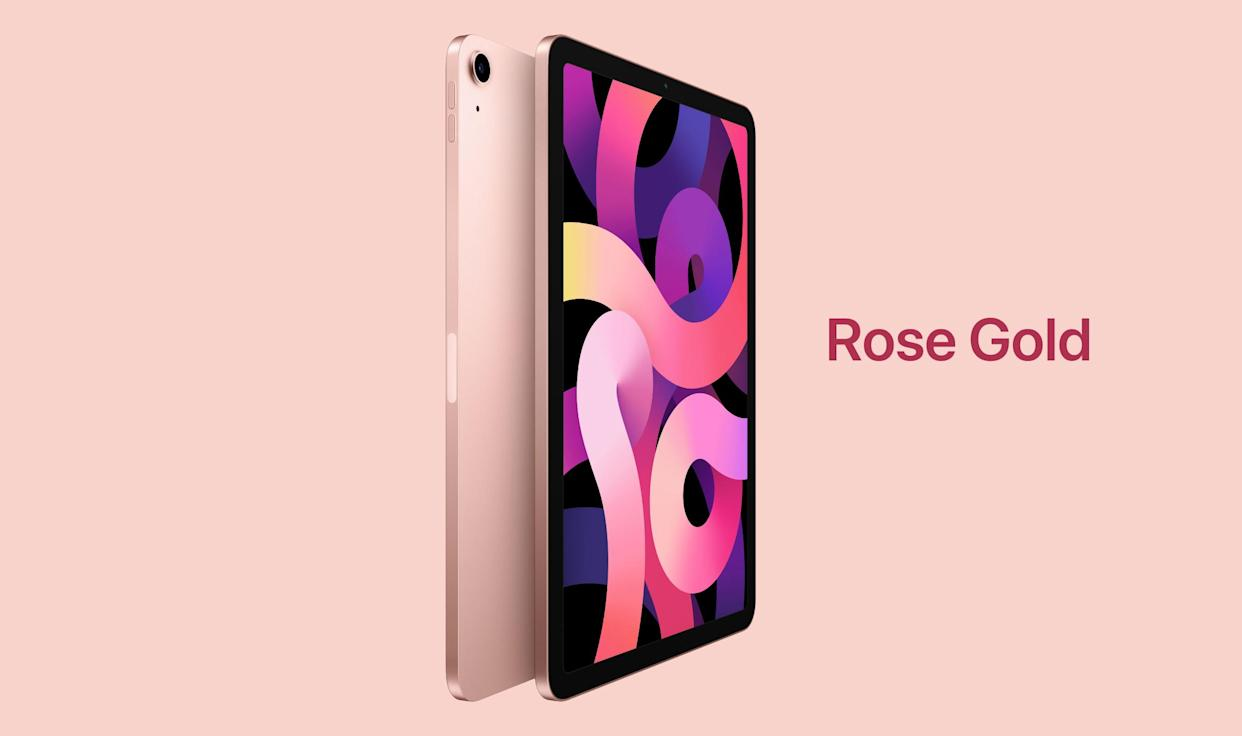 Get the latest Apple iPad Air (in Rose Gold) for just $675. (Photo: Amazon)
