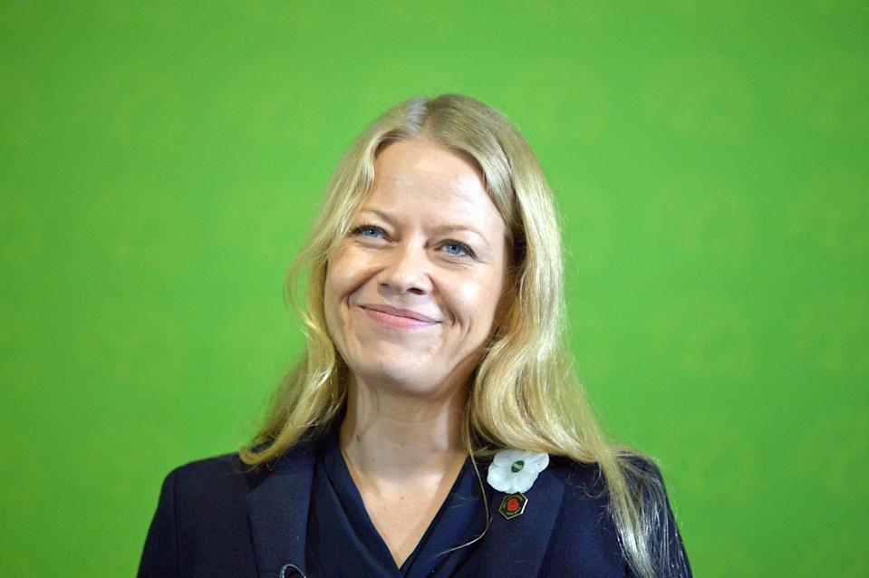 Green Party co-leader Sian Berry has announced her intention to stand down in the autumn (Ben Birchall/PA) (PA Archive)