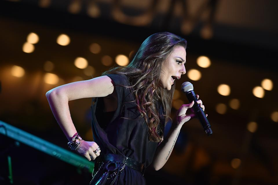 LOS ANGELES, CA - JULY 27:  Singer Cher Lloyd performs at The Grove's Summer Concert Series held at The Grove on July 27, 2016 in Los Angeles, California.  (Photo by Axelle/Bauer-Griffin/FilmMagic)