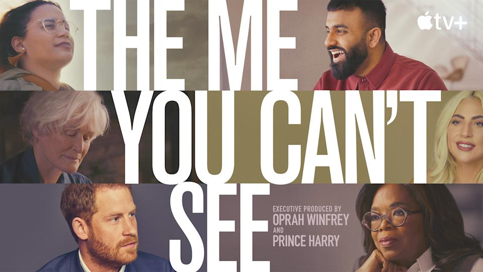 The Me You Can't See is a documentary by Prince Harry and Oprah Winfrey. (Apple TV)