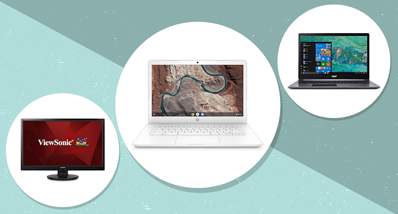 Save up to 41 percent on laptops, monitors and desktops from Acer, Dell, Sceptre and more. (Photo: Amazon)