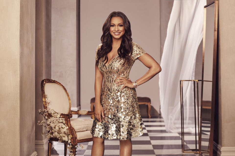 Eboni K. Williams joins her first season on The Real Housewives of New York, premiering on May 4.