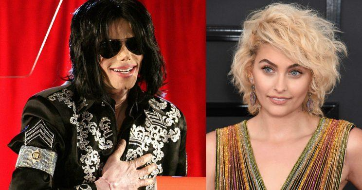 If the crown fits: Paris Jackson says her father, Michael, saw her as his 'princess' (Copyright: Yui Mok/PA Wire/Jim Smeal/REX/Shutterstock)