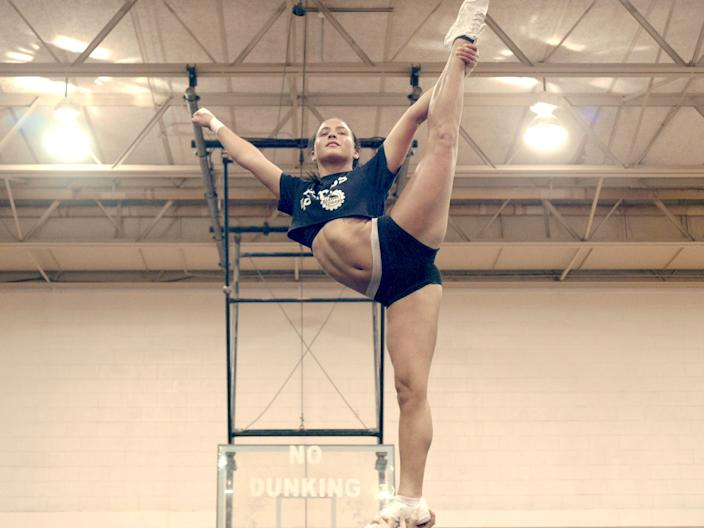 """From the team behind 'Last Chance U,' Netflix's documentary series 'Cheer' follows the competitive cheerleaders of Navarro College in Corsicana, TX."""