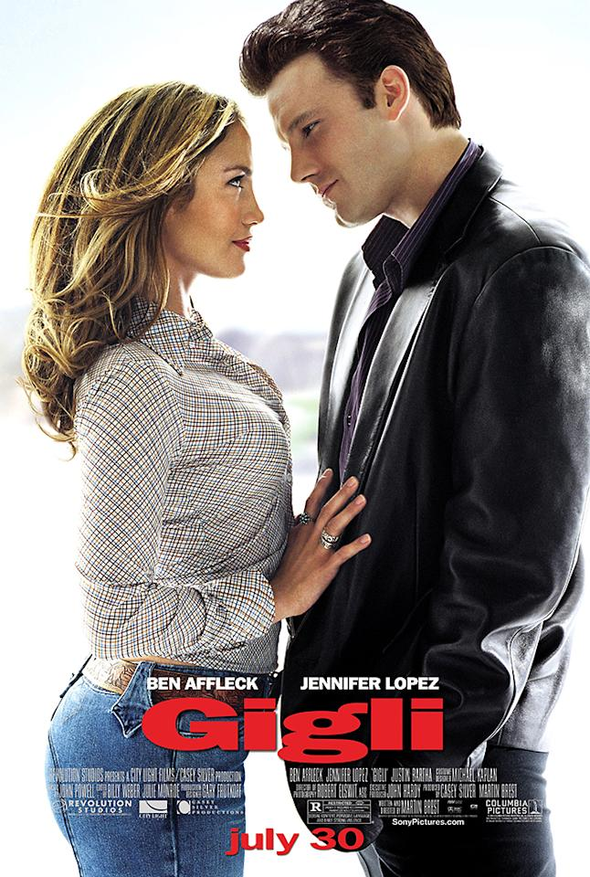 "<a href=""http://movies.yahoo.com/movie/gigli/""><b>Gigli</b></a><br> Release date: August 1, 2003<br> Estimated budget: $75 million<br> U.S. gross: $6 million"