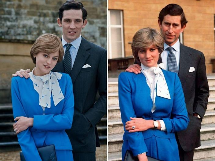 wedding announcement prince charles and princess diana