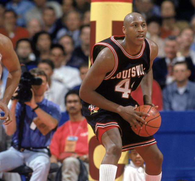 "Cliff Rozier was a first-team All-American at Louisville and a first-round draft pick of the <a class=""link rapid-noclick-resp"" href=""/nba/teams/gsw"" data-ylk=""slk:Golden State Warriors"">Golden State Warriors</a> (Getty Images)"