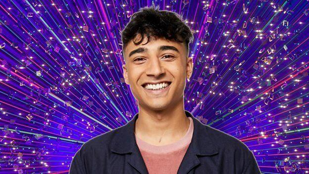 """Karim was the seventh person announced for the line-up, and is best known for his work on CBBC.<br /><br />Promising he wants to throw himself into the experience head-first, he said: """"I want THE LOT… the skimpiest of clothes,the widest of flares, the brightest of colours and the tallest Cuban heel a guy can find!""""<br /><br />Interestingly, with no singers to spark the usual """"dance experience"""" headlines, it might be Karim that finds himself on the receiving end of them this year, as he started out as a child star on the West End, appearing in The Lion King and Chitty Chitty Bang Bang."""