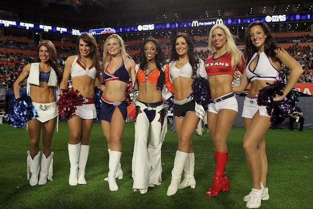 NFL cheerleaders live by a strict code. These are the insane X rules all NFL cheerleaders must follow