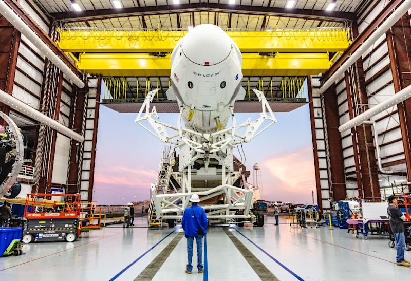 NASA, SpaceX Aims For March Test Of 1st New Astronaut Capsule