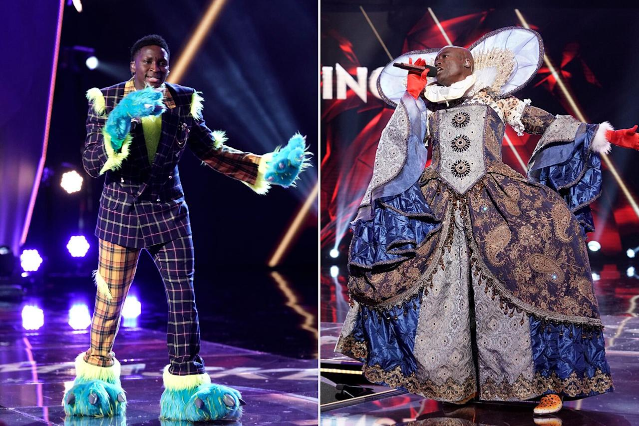 "<strong>Celebrities Behind the Mask: Victor Oladipo & Seal</strong>  This week's <a href=""https://people.com/tv/masked-singer-semifinals-thingamajig-leopard-revealed/"">two-night special</a> continued with fans saying goodbye to two favorites. The first to get unmasked was Thingamajig, who was revealed to be Indiana Pacers player Oladipo.  ""It feels great,"" the basketball star said. ""It has been a rough year for me but to be able to come out here and put smiles on people's faces and just do something fun for once and get away from the game has been awesome. It's nothing but a blessing for me.""  Next up was the Leopard, who was revealed to be the ""Kiss From a Rose"" singer.  ""It's certainly one that I won't forget, that's for sure,"" Seal said of his time on the show. ""But it was a lot of fun and [I'm] kind of sad that it's over."""