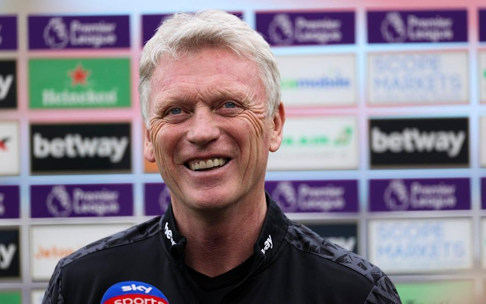 David Moyes is looking for a big response from his players after their defeat to Everton last weekend - NMC POOL