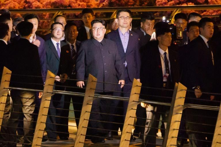 North Korean Leader Kim Jong Un toured parts of Singapore on Monday night ahead of his meeting with Trump