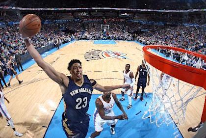 Anthony Davis will need to be even more amazing to earn his first postseason berth. (Layne Murdoch/NBAE/Getty Images)