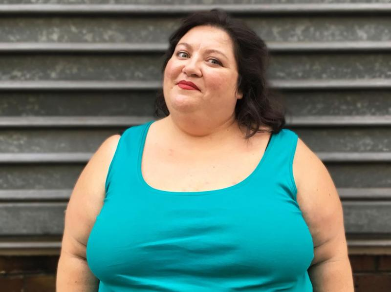 Plus-size author reveals France's obsession with weight. Photo: Gabrielle Deydier