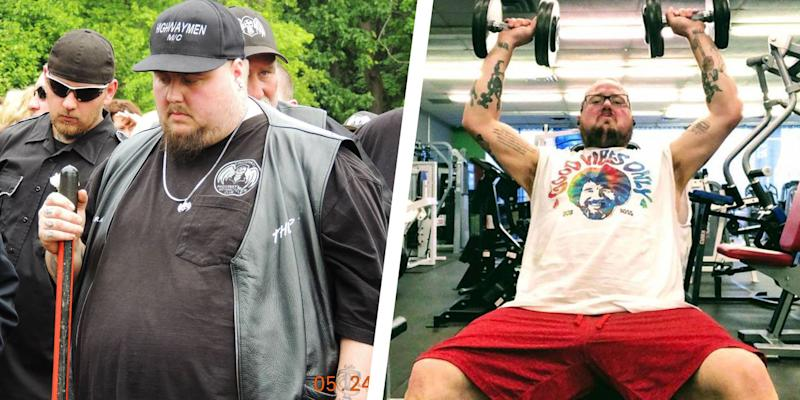 28ba3b813 This Guy Found the Motivation to Hit the Gym and Lost 300 Pounds