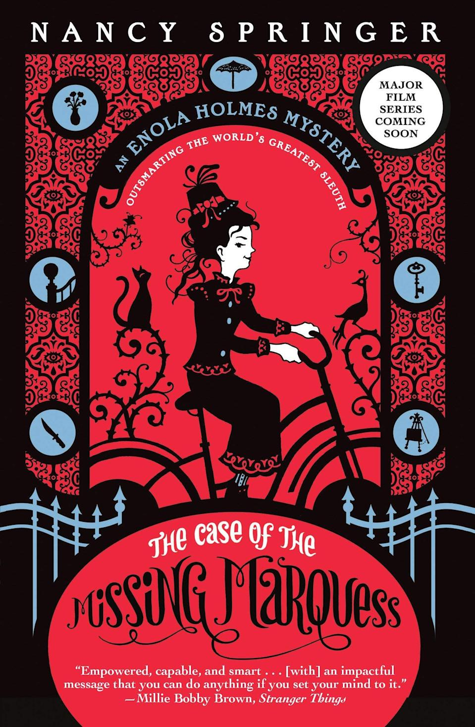 <p>In <span><strong>The Case of the Missing Marquess</strong></span> ($6, originally $8), Enola discovers her mother has disappeared and travels to London to find her. But that's only the beginning of the mystery.</p>