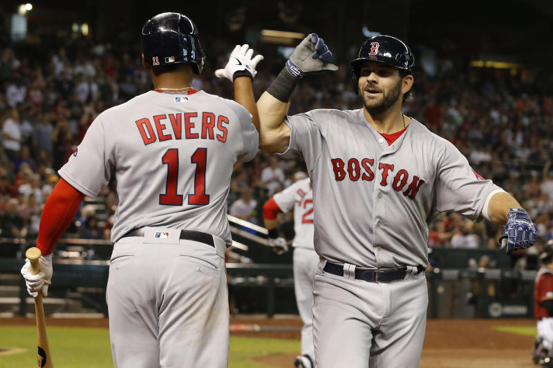c21134aea Moreland homer sends Red Sox home with 1-0 win over D-Backs