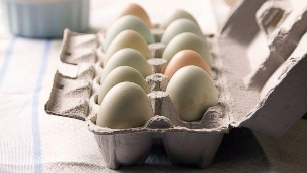 PHOTO: Eggs in a carton on a table in this undated photo. (Getty Images)