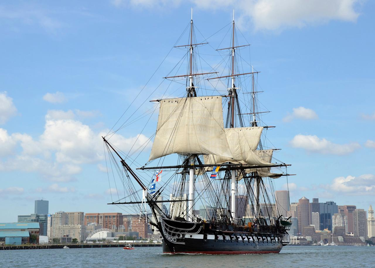 "<p><strong>Zoom out. What's this place all about?</strong><br> The <em>USS Constitution,</em> the world's oldest-commissioned floating warship, is berthed on a dock at Charlestown's Navy Yard. Step onto the 220-plus-year-old wooden ship—free of charge—and you'll learn about life in the Navy from active-duty sailors. Down the wharf, the privately owned <em>USS Constitution</em> Museum (which has a suggested admission fees) offers added insights, so you can understand the significance of ""Old Ironsides"" and life on the high seas.</p> <p><strong>A permanent collection is defining: How was it?</strong><br> The <em>USS Constitution</em> gives you the opportunity to get a sense of life and work on a late-18th-century U.S. Navy ship—one that remains in working order. Once on the ship, a glance upward will give you an understanding of the scale of this seasoned vessel and its soaring masts. Next, take narrow steps down to the top three lower decks and peek into the captain's quarters. When you're done checking out the ship, make sure to walk over to Dry Dock 1, among the oldest dry docks in the United States (and an engineering marvel), where the navy conducted maintenance on the Constitution, most recently from 2015 to 2017.</p> <p>The nearby <em>USS Constitution</em> Museum gives you the chance to take an even deeper dive into the history of the ship, especially its early-18th-century heyday, through experiential, interactive, and hands-on exhibits.  Among the artifacts you'll encounter: an axe that helped build the ship 220-plus years ago and a 150-year old biscuit from the ship's galley.  There's also a new exhibition, ""Today's Crew,"" that helps you get to know the contemporary sailors serving aboard the ship today.</p> <p><strong>What did you make of the crowd?</strong><br> Because both the ship and the museum are stops on the  <a href=""https://www.cntraveler.com/activities/boston/the-freedom-trail?mbid=synd_yahoo_rss"">Freedom Trail</a>, waves of people join the line for the <em>USS Constitution,</em> which moves fairly quickly. You'll notice most of your fellow travelers are retirees or families with ecstatic kids in tow. If you're serious about engineering, maritime culture, or the navy—or you're just plain into history—you'll love visiting the warship.</p> <p><strong>On the practical tip, how were the facilities?</strong><br> You need to show a state-issued ID to walk onto the ship since it's an active military base. Unfortunately, the <em>USS Constitution</em> is not accessible because it's been restored to its 1812 state. The museum is accessible, though.</p> <p><strong>Any guided tours worth trying?</strong><br> A sailor offers a brief introductory presentation every 15 minutes, providing a rundown of the history of the ship and walking you through her storied history and contributions to the Navy. From there, you can explore the ship at your own pace. At the museum, you'll find daily self-guided scavenger-hunt-style programming and activities.</p> <p><strong>Gift shop: What will we find?</strong><br> The ship has a small gift area, where you can buy <em>USS Constitution</em> merchandise include ball caps, tote bags, patches, and coins. There are also flags, which you can immediately have flown aboard the ship before you take them home. The museum shop's offerings are more abundant, though not always as relevant, from Boston beans candy to children's books and bags made out of sails.</p> <p><strong>Any advice for the time- or attention-challenged?</strong><br> For a quick stop, head straight to the <em>USS Constitution</em> and skip the museum. And if you want to see this beauty set sail, visit Boston on the Fourth of July.</p>"