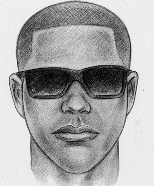 This sketch released by the New York Police Department shows a man who is being sought in connection with the fatal shooting of shopkeeper Isaac Kadare at his store in the Bensonhurst neighborhood in the Brooklyn borough of New York, on Aug. 2, 2012. The same gun that killed Kadare was also used in the murders of two other shopkeepers, according to police, with the latest victim being fatally shot Friday, Nov. 16, 2012, in Brooklyn's Flatbush neighborhood. (AP Photo/New York Police Department)