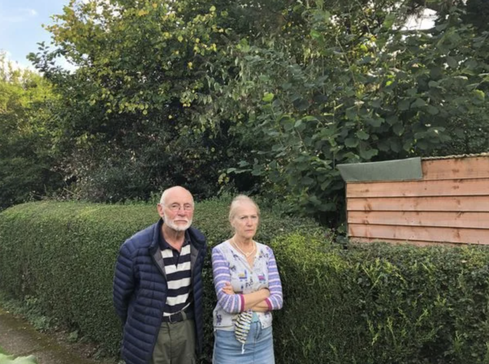 Fred Sweenie and wife Jan say the situation is making them ill. Source: Reach