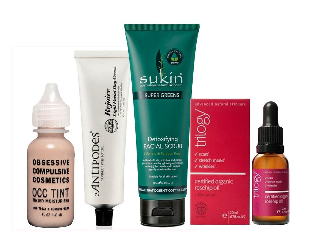 <p>Being conscious of what's in your beauty product doesn't have to be hard. All of these are suitable for vegans. </p>