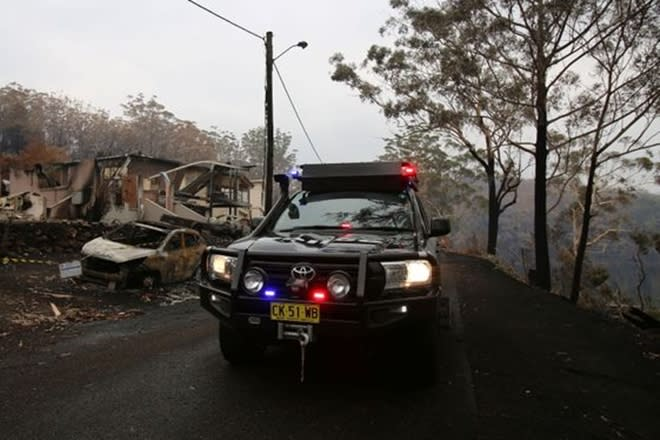 Increased support comprising of extra food and water for fire-affected landholders and farmers in NSW. (Reuters image)