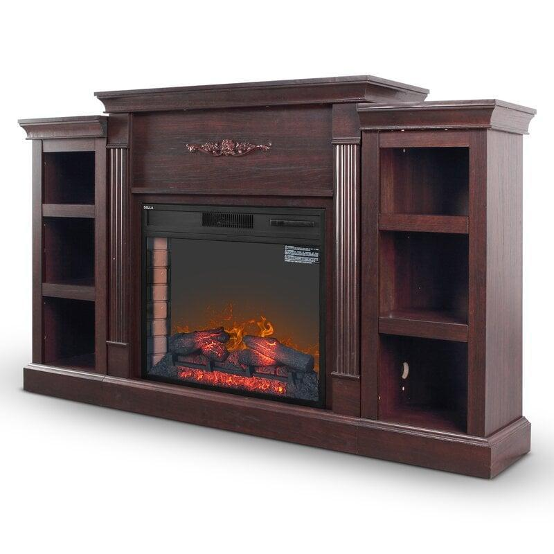 <p>This <span>Broome Electric Fireplace</span> ($720) is a whole media cabinet, and we love it.</p>