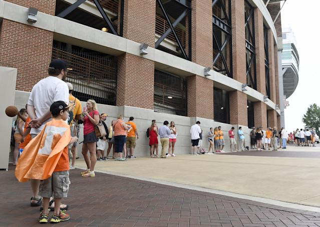 (AP Photo/Knoxville News Sentinel, Amy Smotherman Burgess)
