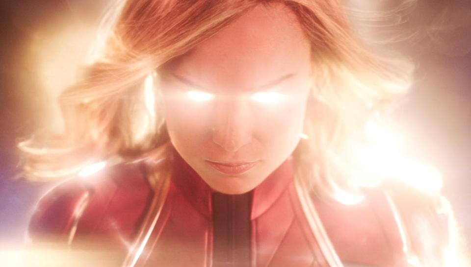 'Captain Marvel' features Brie Larson as the titular hero, giving the Marvel Cinematic Universe its first solo female leading lady